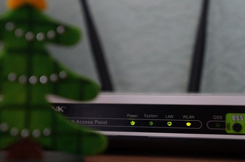 Image of wireless router switch access point